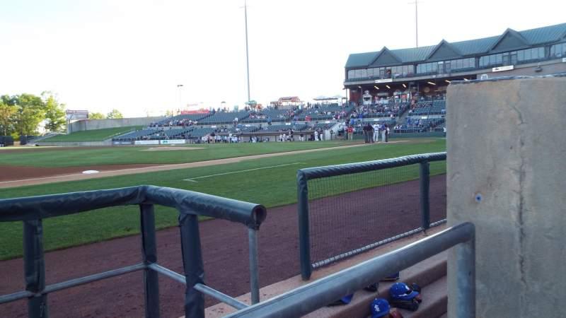 TD Bank Ballpark, section: 118, row: AA, seat: 1