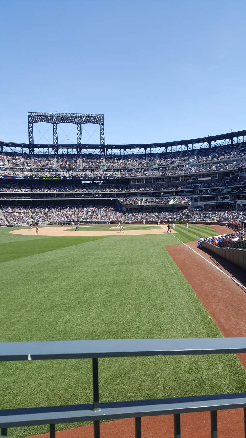 Citi Field, section: 133, row: A, seat: 6