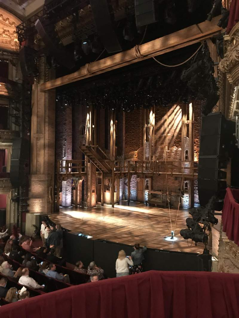 CIBC Theatre, section: Dress Circle Box 2, row: 2, seat: 212