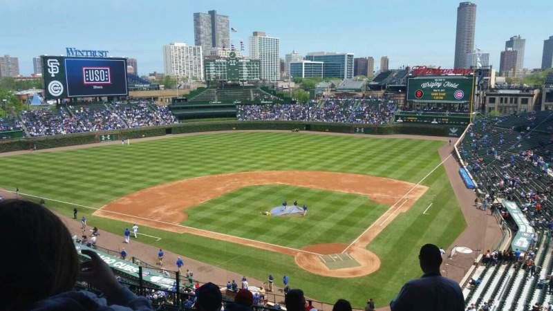 Seating view for Wrigley Field Section 315L Row 10 Seat 6