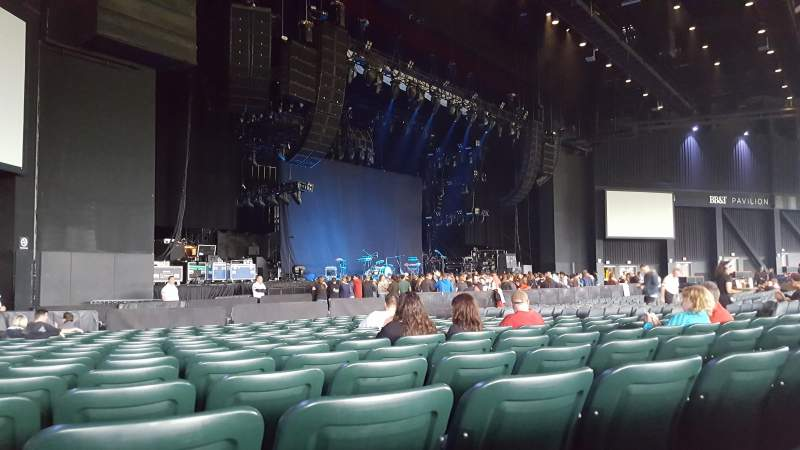 BB&T Pavilion, section: 104, row: R, seat: 16