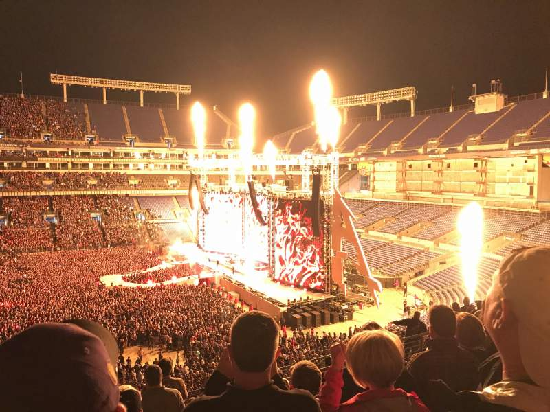 Seating view for M&T Bank Stadium Section 226 Row 11 Seat 17