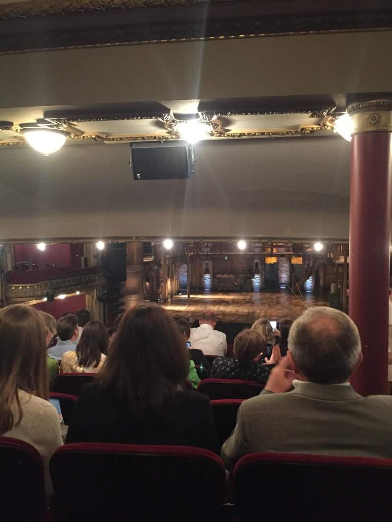 Privatebank theatre section dress circle c row g seat for Balcony novello theatre