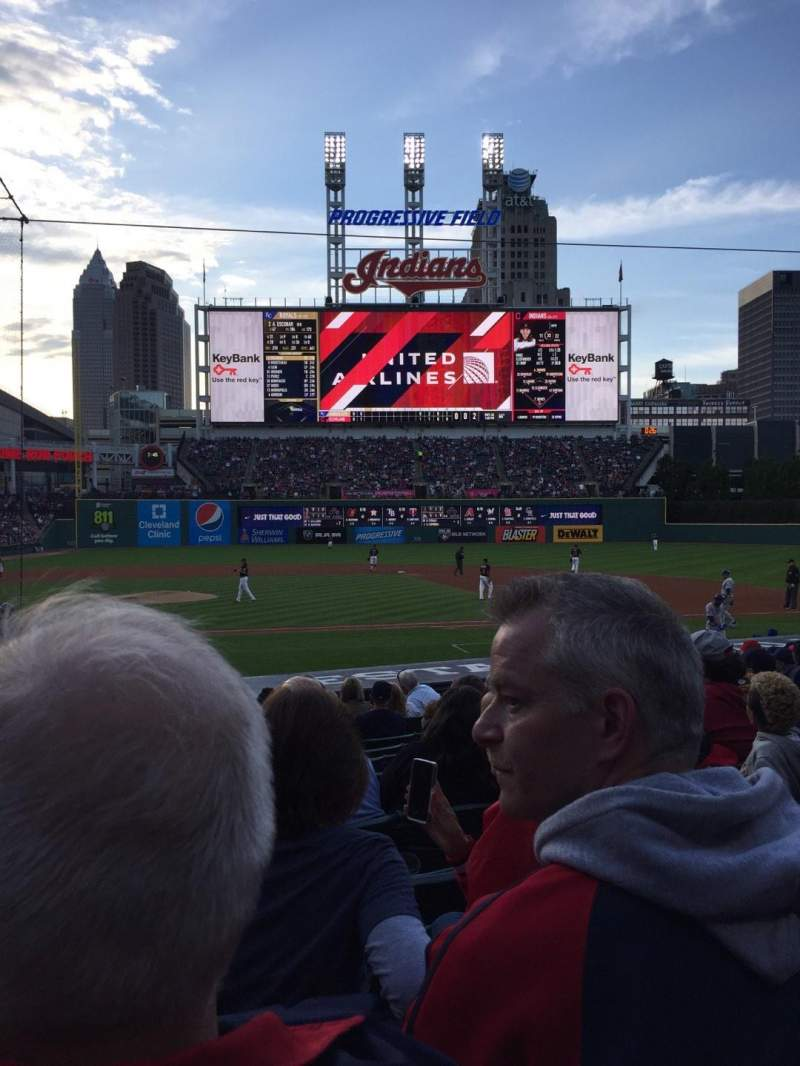 Seating view for Progressive Field Section 146 Row R Seat 10