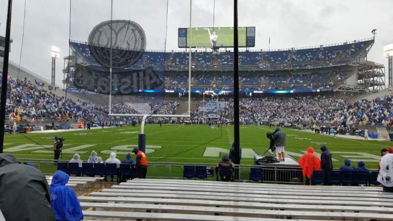 Beaver Stadium, section: NE, row: 6