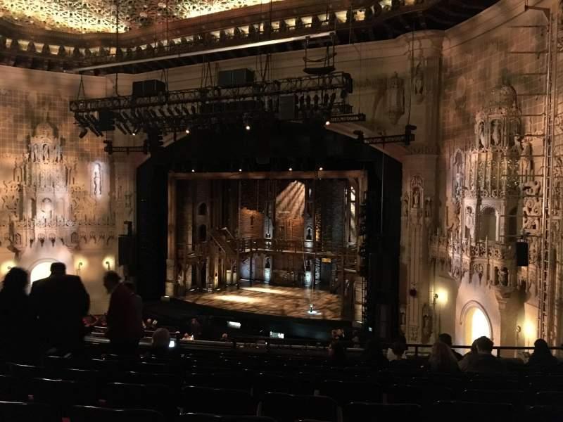 Orpheum Theatre (San Francisco), section: Mezzanine R, row: L, seat: 18