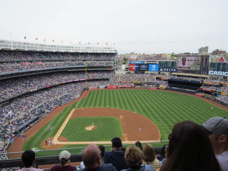 Seating view for Yankee Stadium Section 416 Row 5 Seat 16