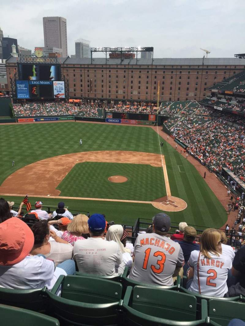 Oriole Park at Camden Yards, section: 348, row: 14, seat: 7