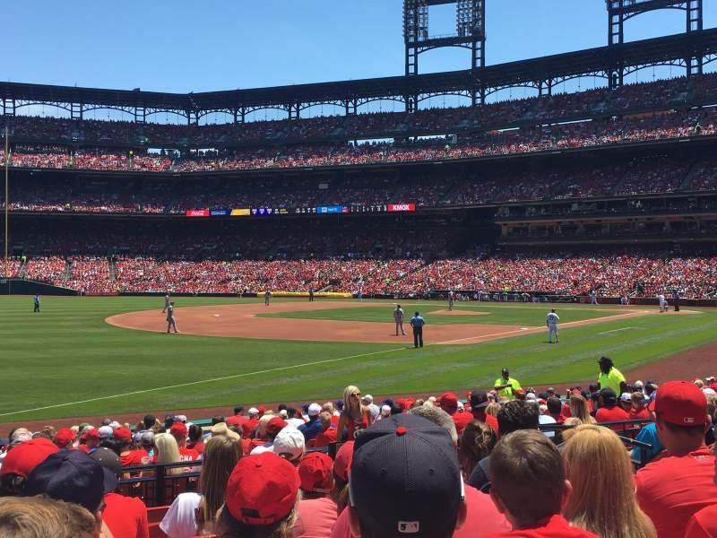 Busch Stadium, section 164, row 8, seat 8 - St. Louis ...