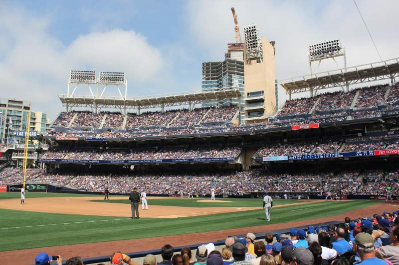 Seating view for PETCO Park Section 116 Row 7 Seat 1