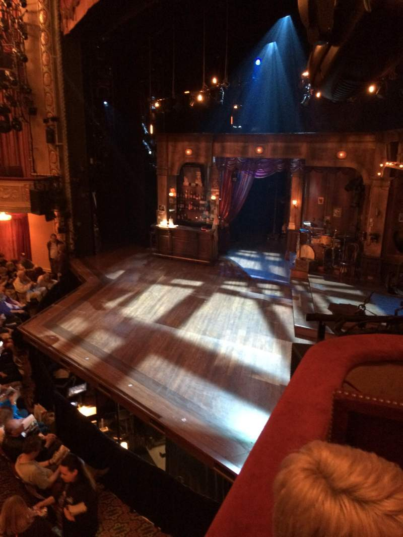 Seating view for Bernard B. Jacobs Theatre Section Right Boxes Row C Seat 1