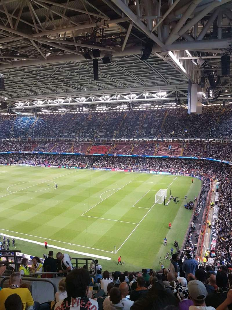 Principality Stadium, section 265, row 17, seat 7 ...