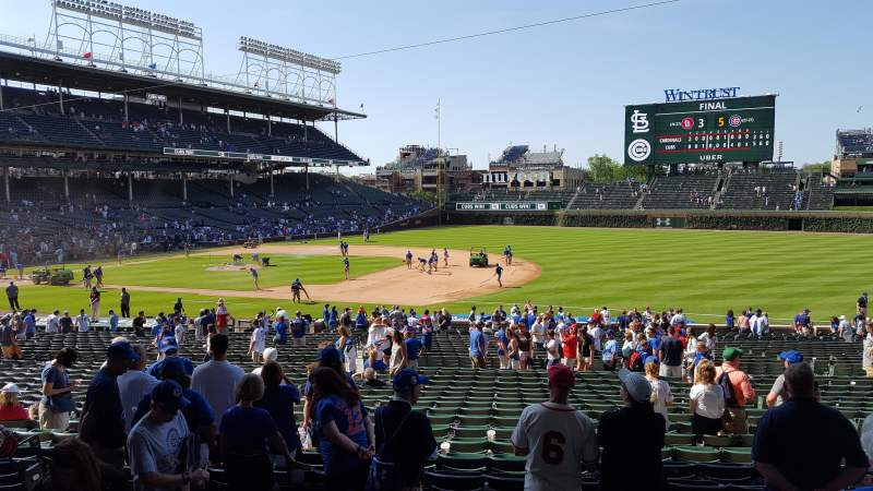 Seating view for Wrigley Field Section 227 Row 4 Seat 7-8
