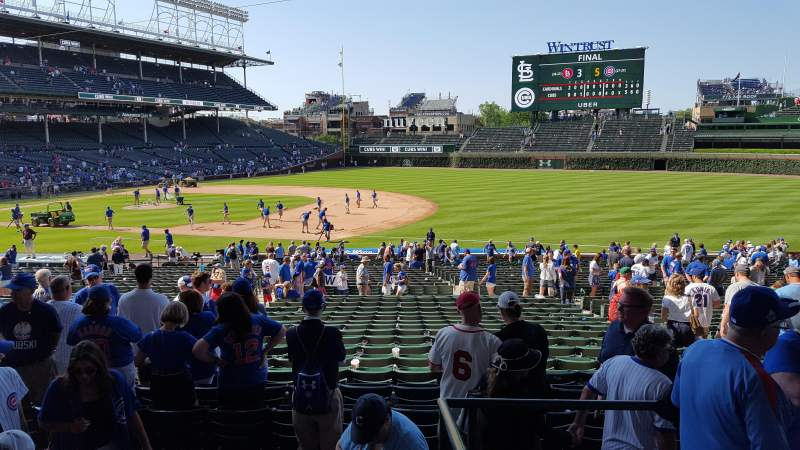 Seating view for Wrigley Field Section 227 Row 4 Seat 7