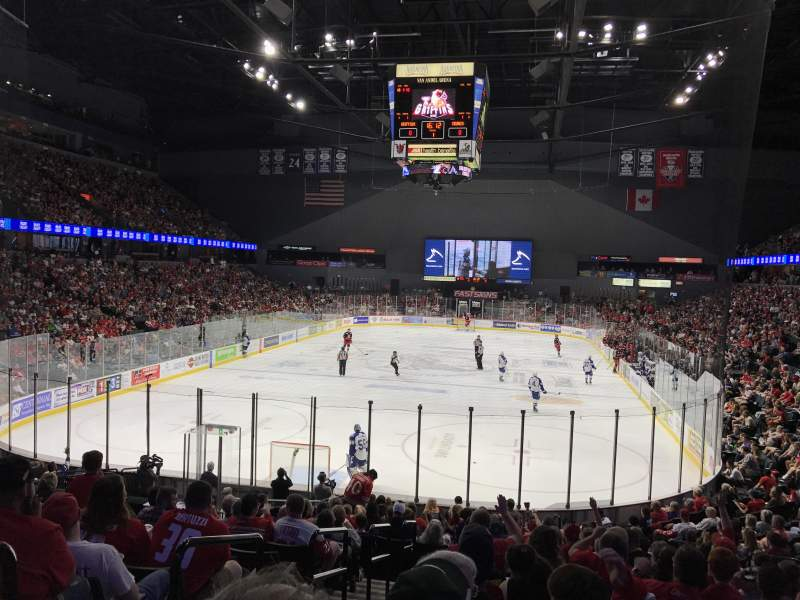 Van Andel Arena, section: 128, row: T, seat: 12
