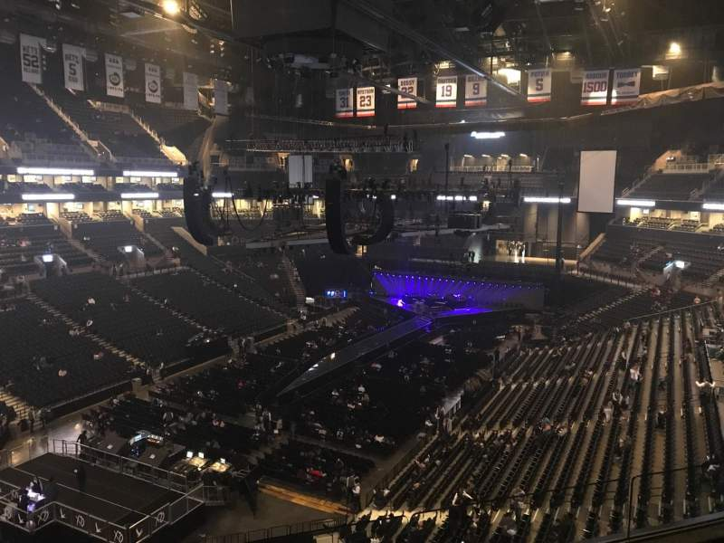 Barclays Center, section: 213, row: 3, seat: 8
