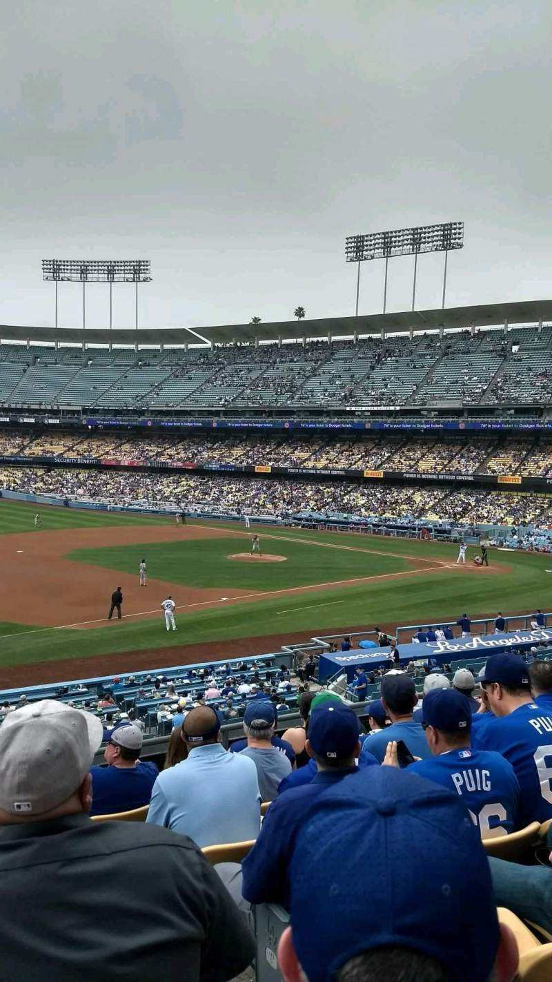 Seating view for Dodger Stadium Section 145LG Row G Seat 2
