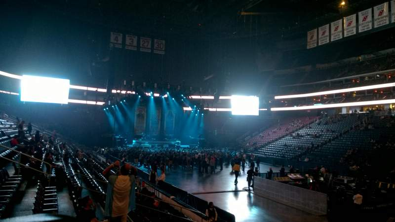 Seating view for Prudential Center Section 22 Row 9 Seat 9
