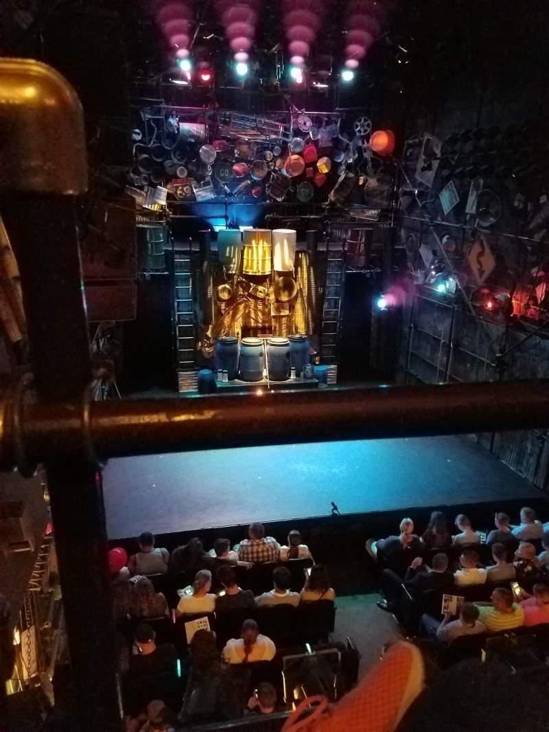Orpheum Theater (New York), section: Balcony, row: Aa, seat: 9