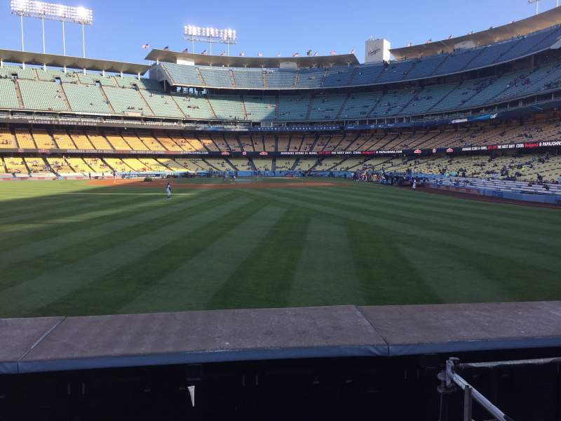 Seating view for Dodger Stadium Section 305PL Row A Seat 5