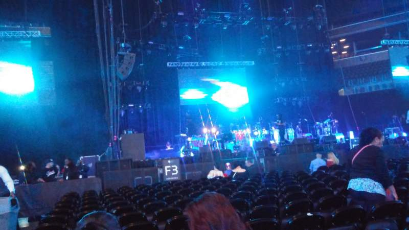 Barclays Center, section: F3, row: 14, seat: 14