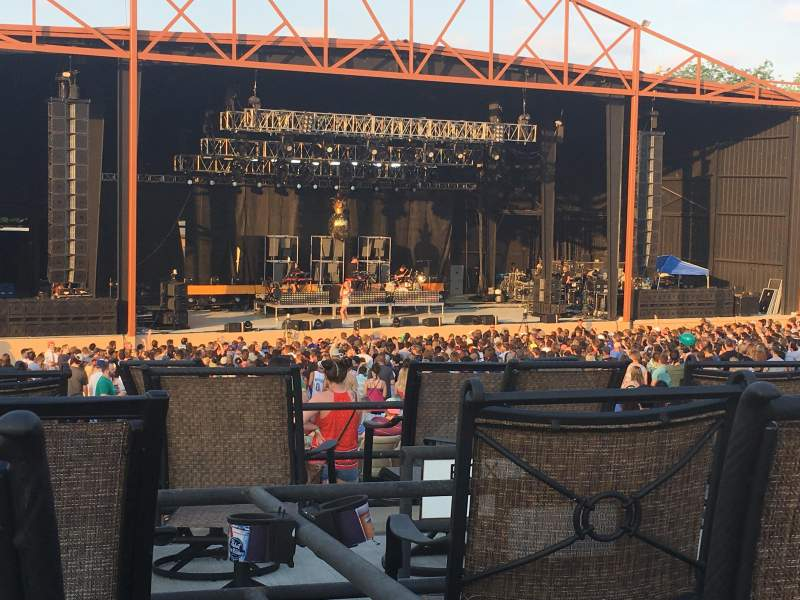 Seating view for Providence Medical Center Amphitheater Section 12 Row G Seat 12