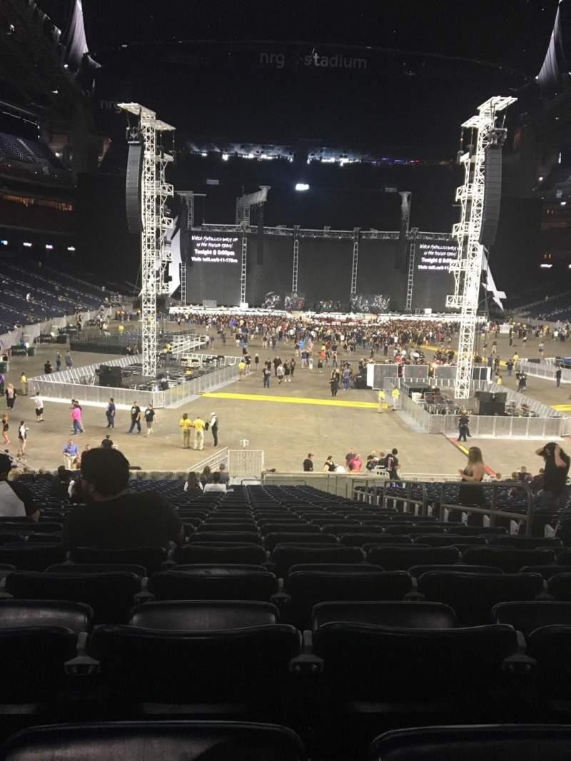 NRG Stadium, section: 138, row: CC, seat: 5