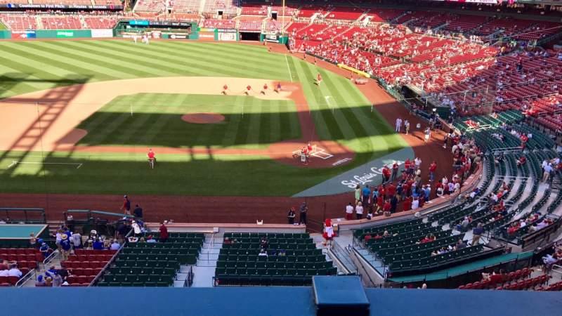 Busch Stadium, section: 254, row: 1, seat: 9
