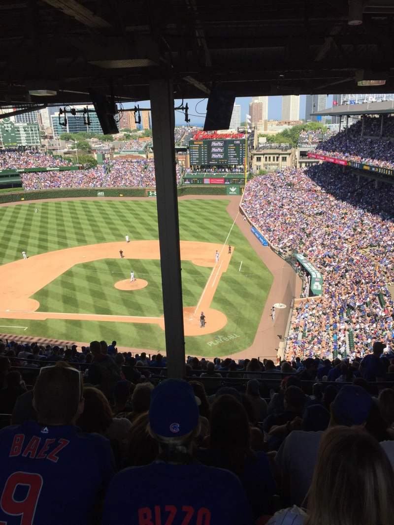 Wrigley Field, section: 517, row: 8, seat: 5