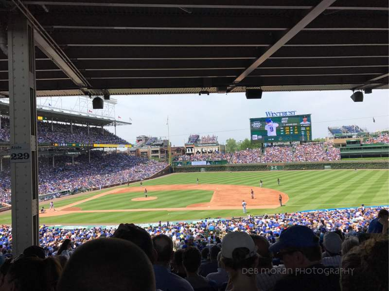 Seating view for Wrigley Field Section 225 Row 14 Seat 6
