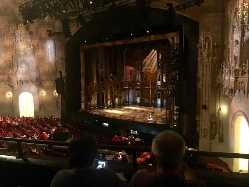 Seating view for Orpheum Theatre (San Francisco) Section Loge R Row C Seat 26