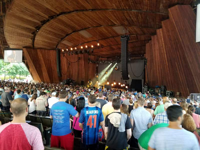 Blossom Music Center, section: 22, row: M, seat: 6