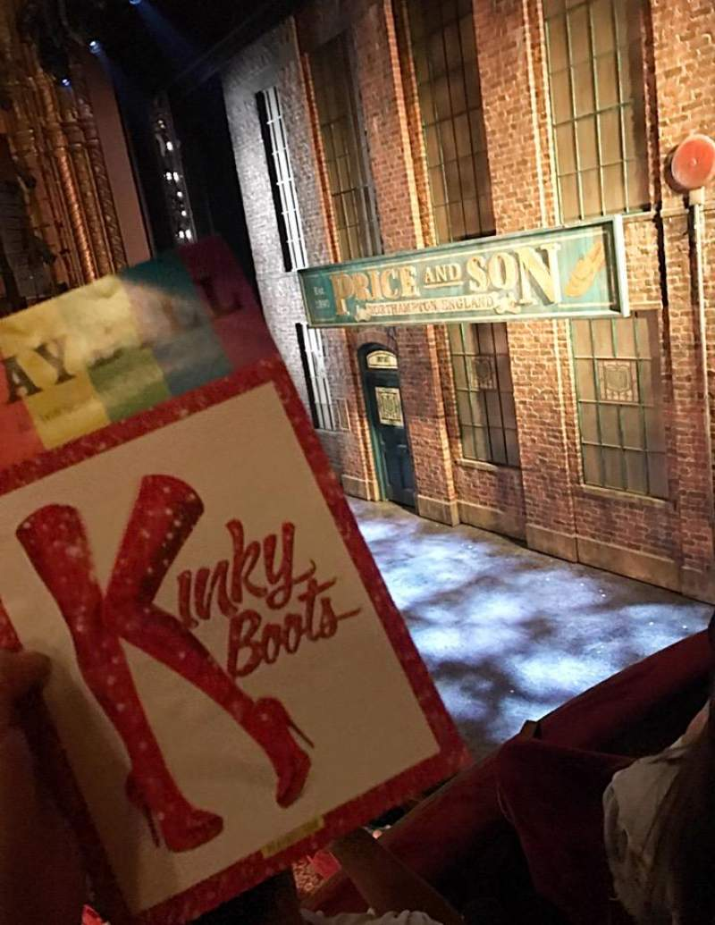 Seating view for Al Hirschfeld Theatre Section Right Box Row D Seat 10