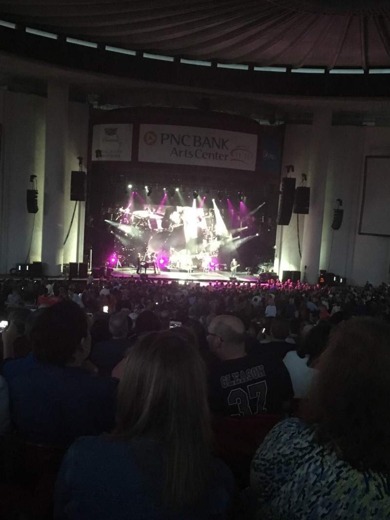 Seating view for PNC Bank Arts Center Section 303 Row Q Seat 135