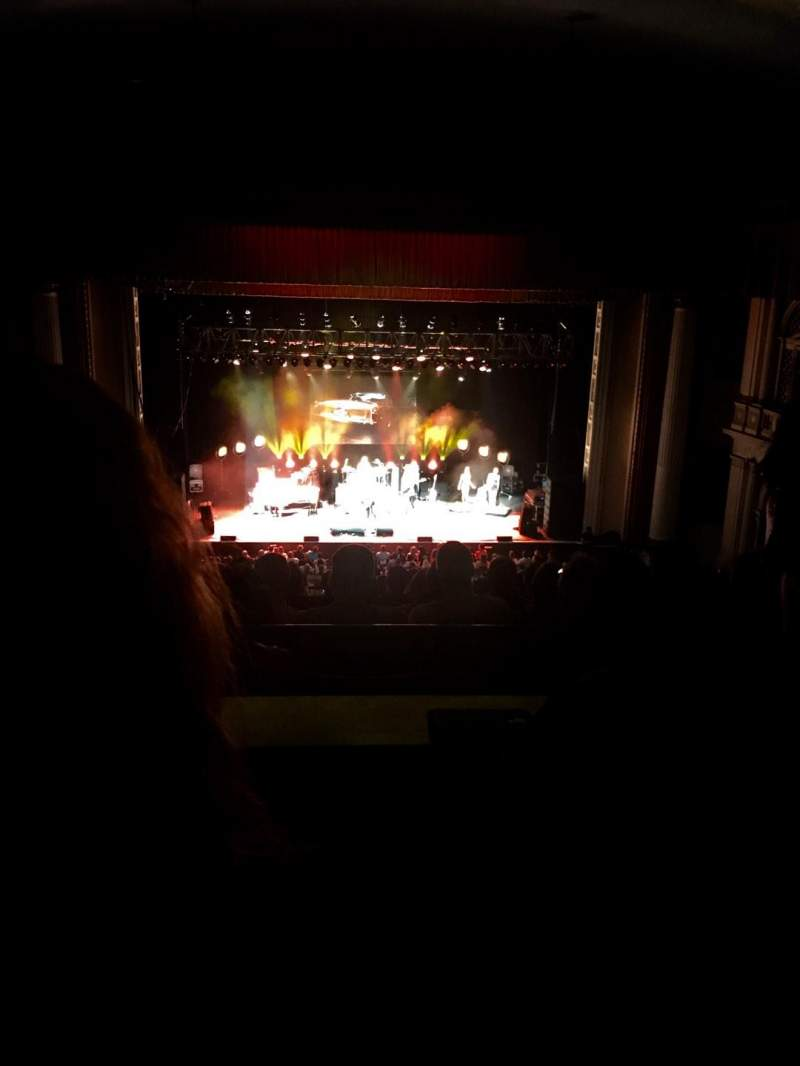 Seating view for Tower Theater Section Lower Balcony LC Row B Seat 106