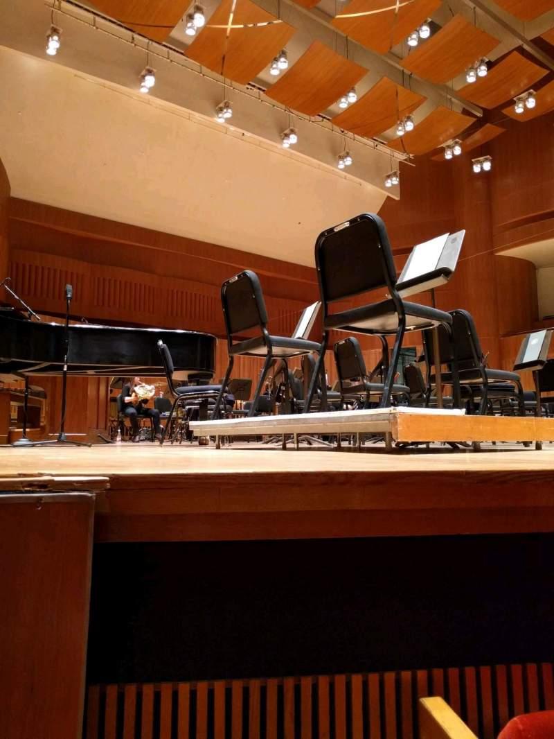 Joseph Meyerhoff Symphony Hall Section Orchestra Left Row C Seat
