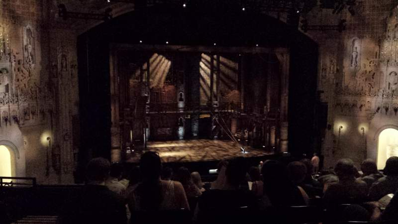 Seating view for Orpheum Theatre (San Francisco) Section Mezzanine LC Row K Seat 127