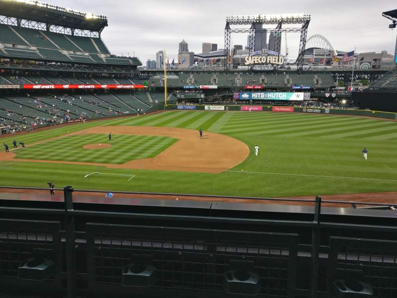Seating view for T-Mobile Park Section 220 Row 2 Seat 6