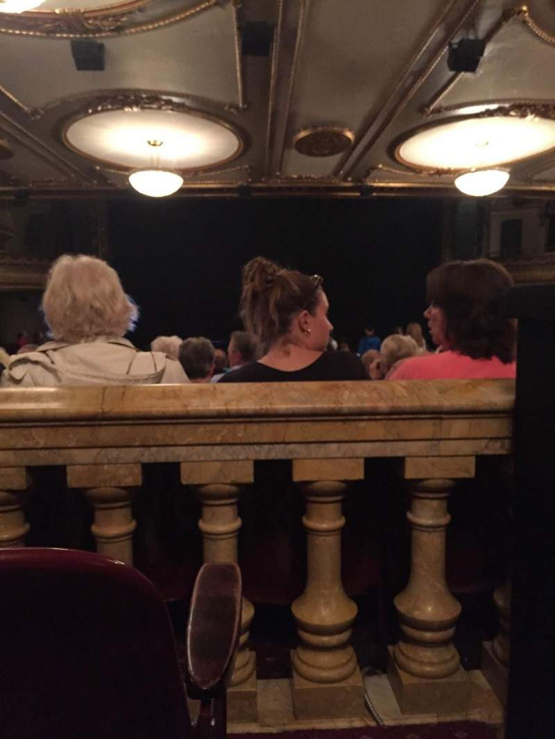 Seating view for Palace Theatre (Broadway) Section Orchestra Row ZZ Seat 115