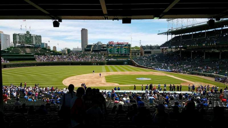 Seating view for Wrigley Field Section 212 Row 14 Seat 2