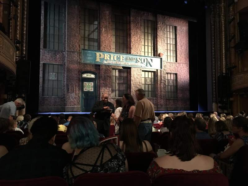 Seating view for Al Hirschfeld Theatre Section Orchestra L Row N Seat 5