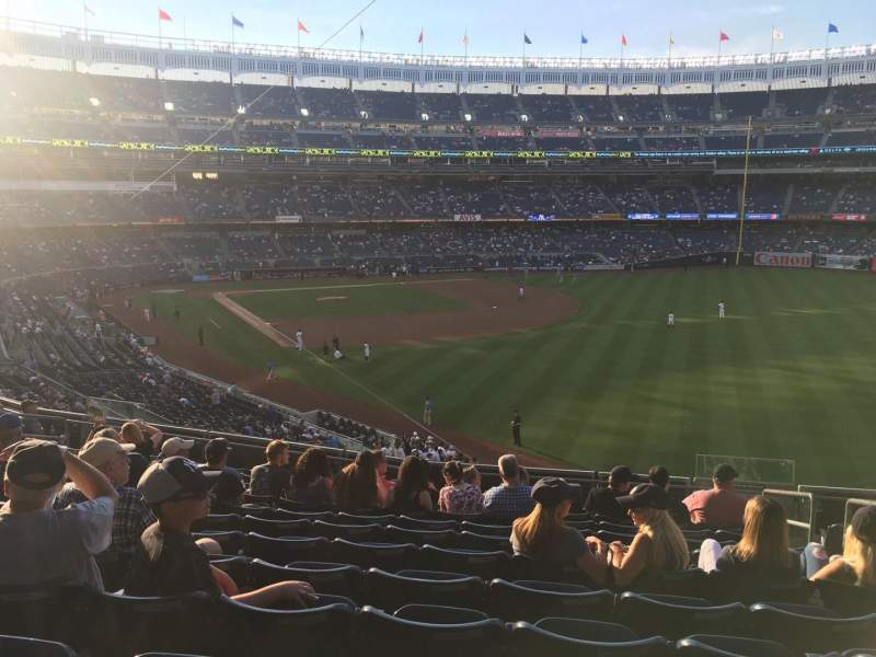 Seating view for Yankee Stadium Section 209 Row 12 Seat 4