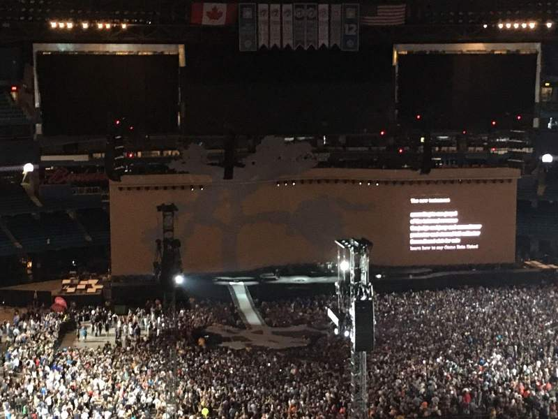 Rogers Centre, section: 526, row: 14