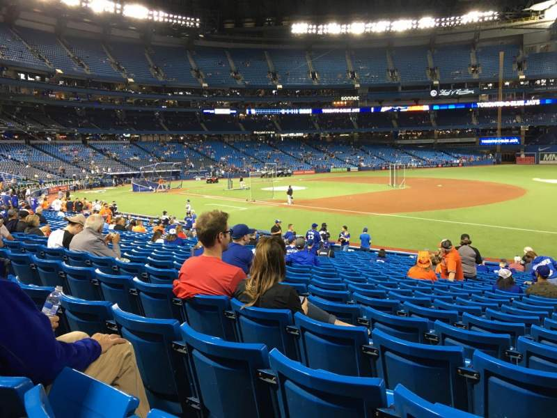 Rogers Centre, section: 113AL, row: 24, seat: 101