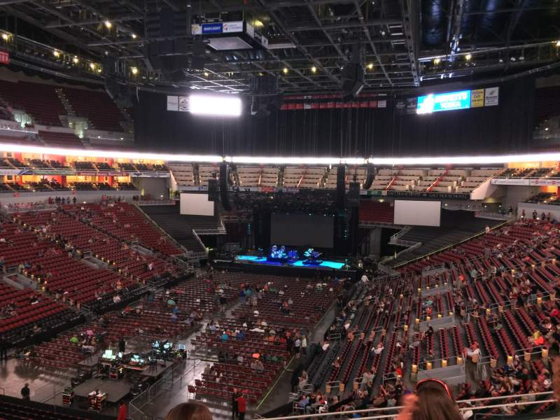 KFC Yum! Center, section: 209, row: E, seat: 18