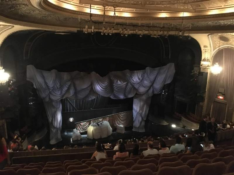 Seating view for Majestic Theatre Section Rear Mezzanine LC Row H Seat 123