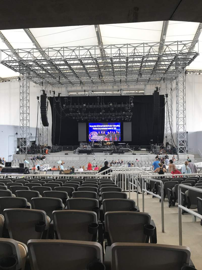 Daily's Place, section: 205, row: L, seat: 1