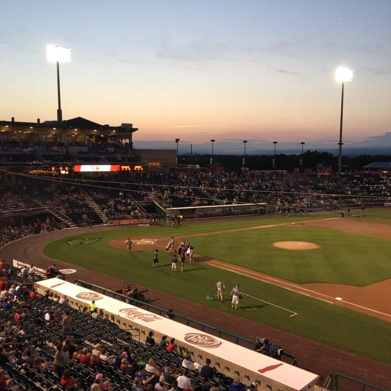 Seating view for Coca-Cola Park Section 201 Row A Seat 6
