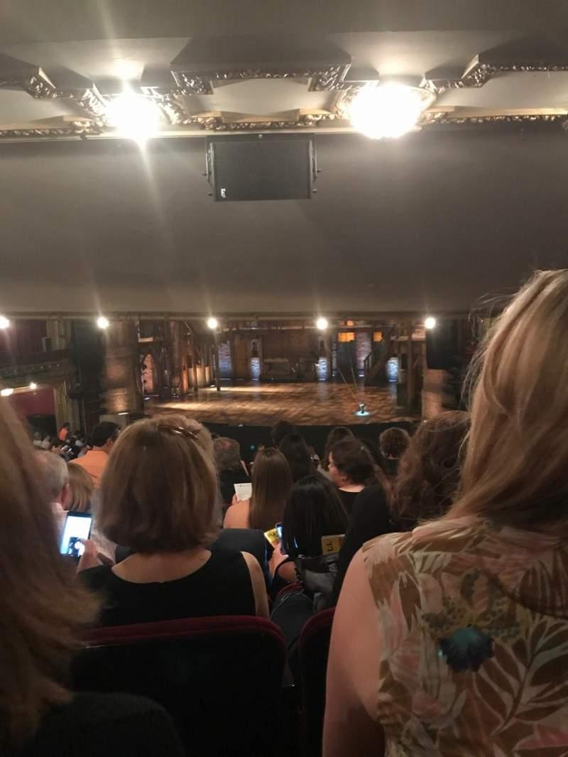 CIBC Theatre, section: Dress Circle RC, row: G, seat: 236