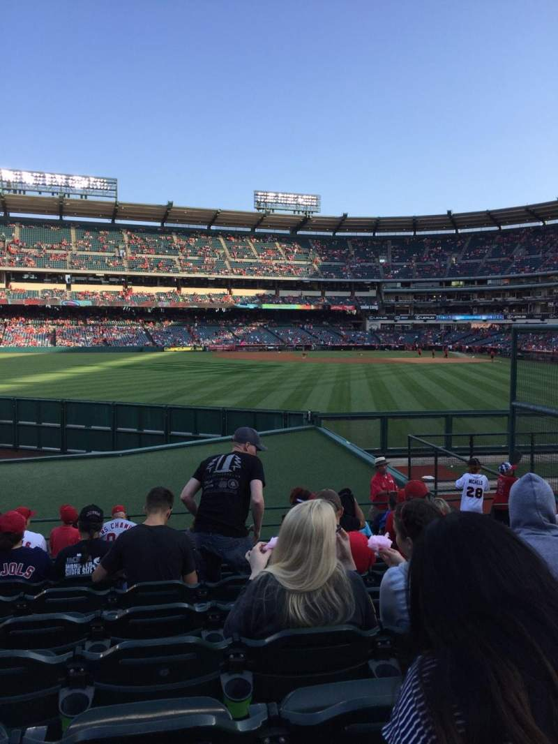 Seating view for Angel Stadium Section P257 Row L Seat 13